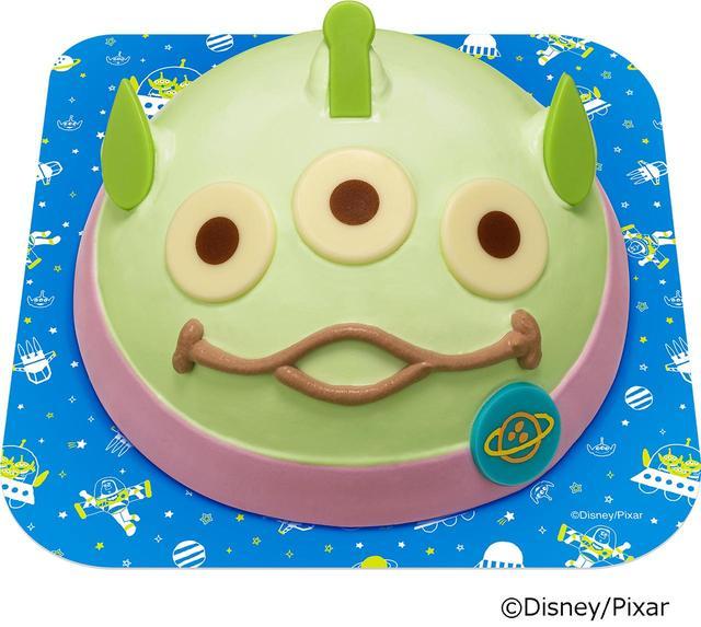 画像1: トイ・ストーリーで人気のエイリアンがサーティワンのアイスケーキに!