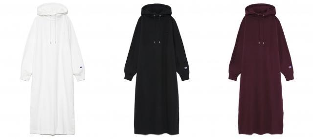 画像: Hoodie dress ¥15,000+tax  (9月上旬入荷予定)