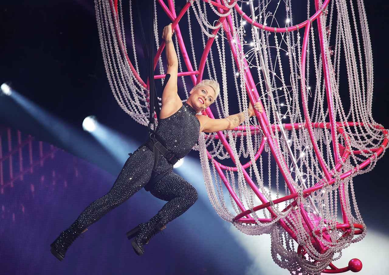 画像: ピンクのコンサートでファンが出産