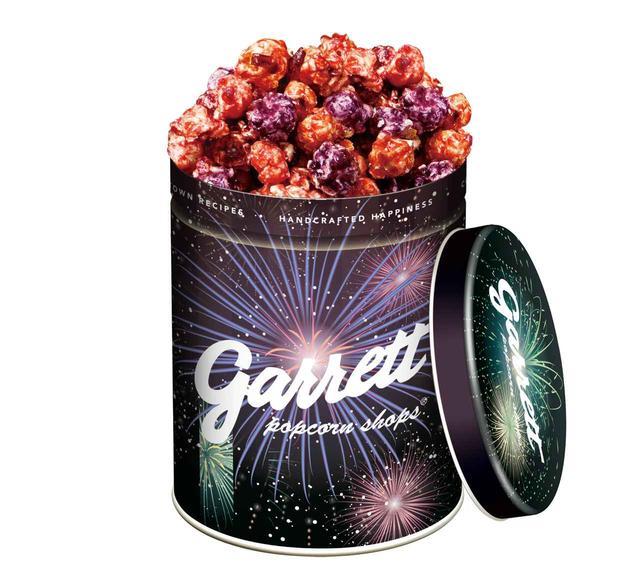 画像1: ギャレット ポップコーン新作、ベリーキャラメルが花火の缶に