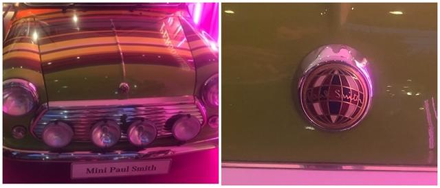画像2: 世界に1台!ミニとポール・スミスがコラボした特別車を展示