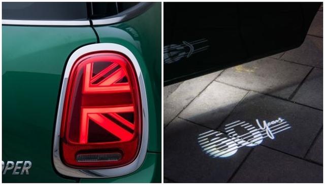 画像3: ミニ生誕60周年記念の特別仕様車「MINI 60 Years Edition」も展示