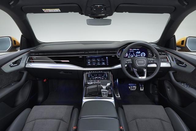画像3: アウディ新型車Q8、スポーティでラグジュアリーなSUV