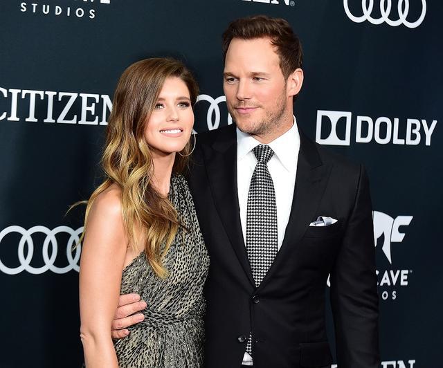 画像: クリスと新妻のキャサリン。
