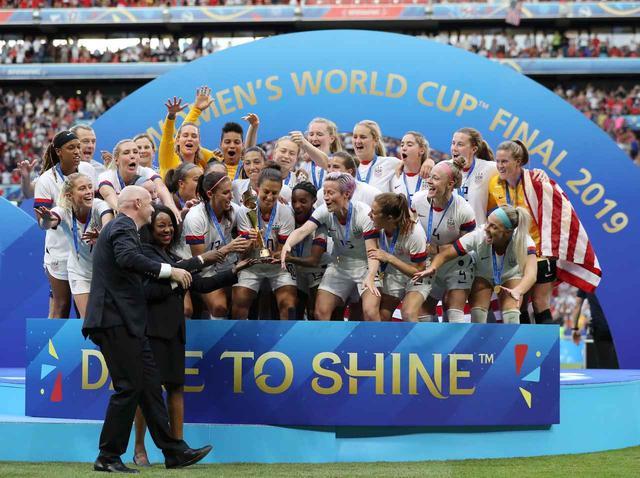 画像: アメリカ合衆国女子代表がワールドカップ制覇