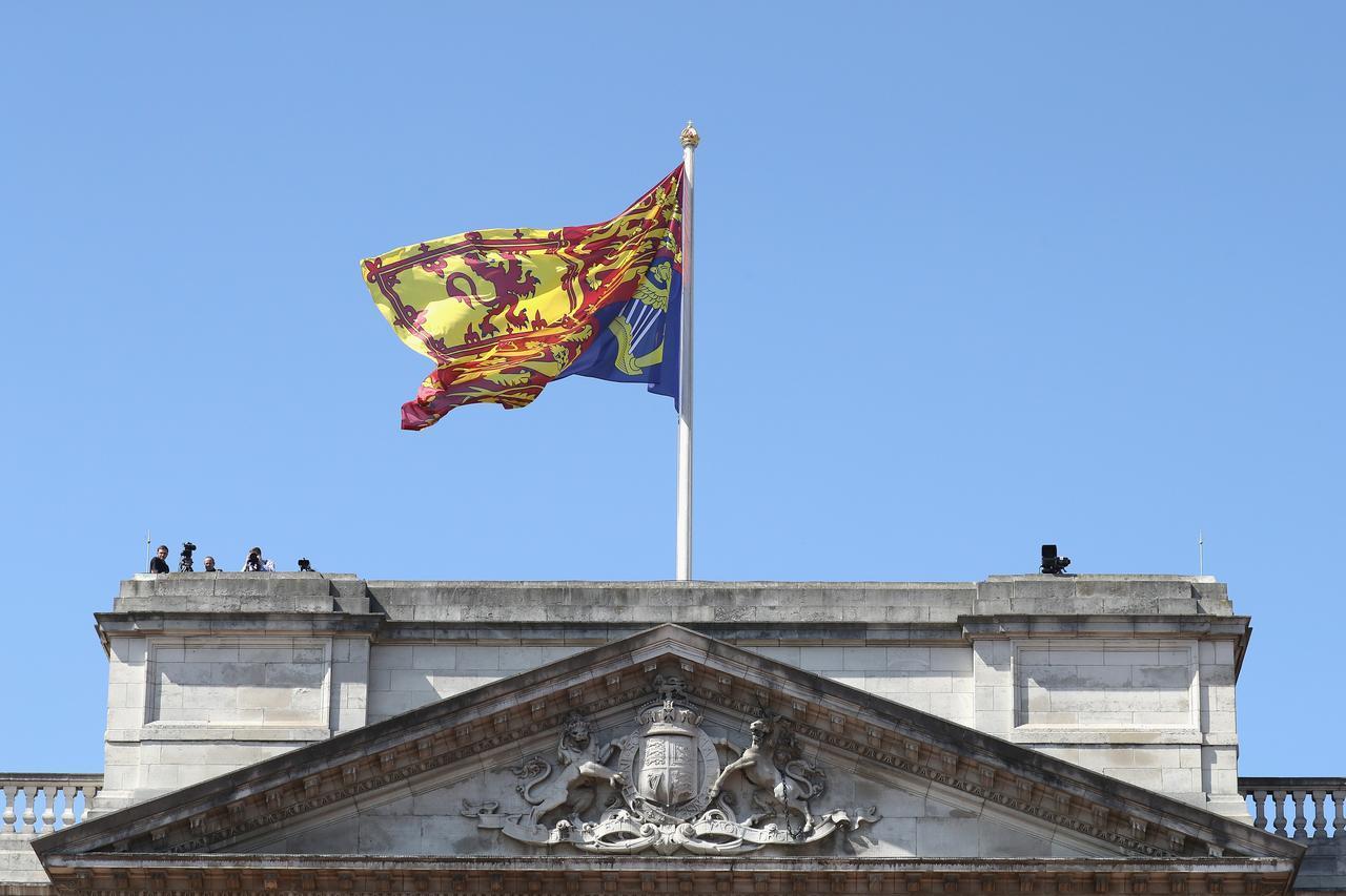 画像2: バッキンガム宮殿に男が侵入、エリザベス女王は就寝中