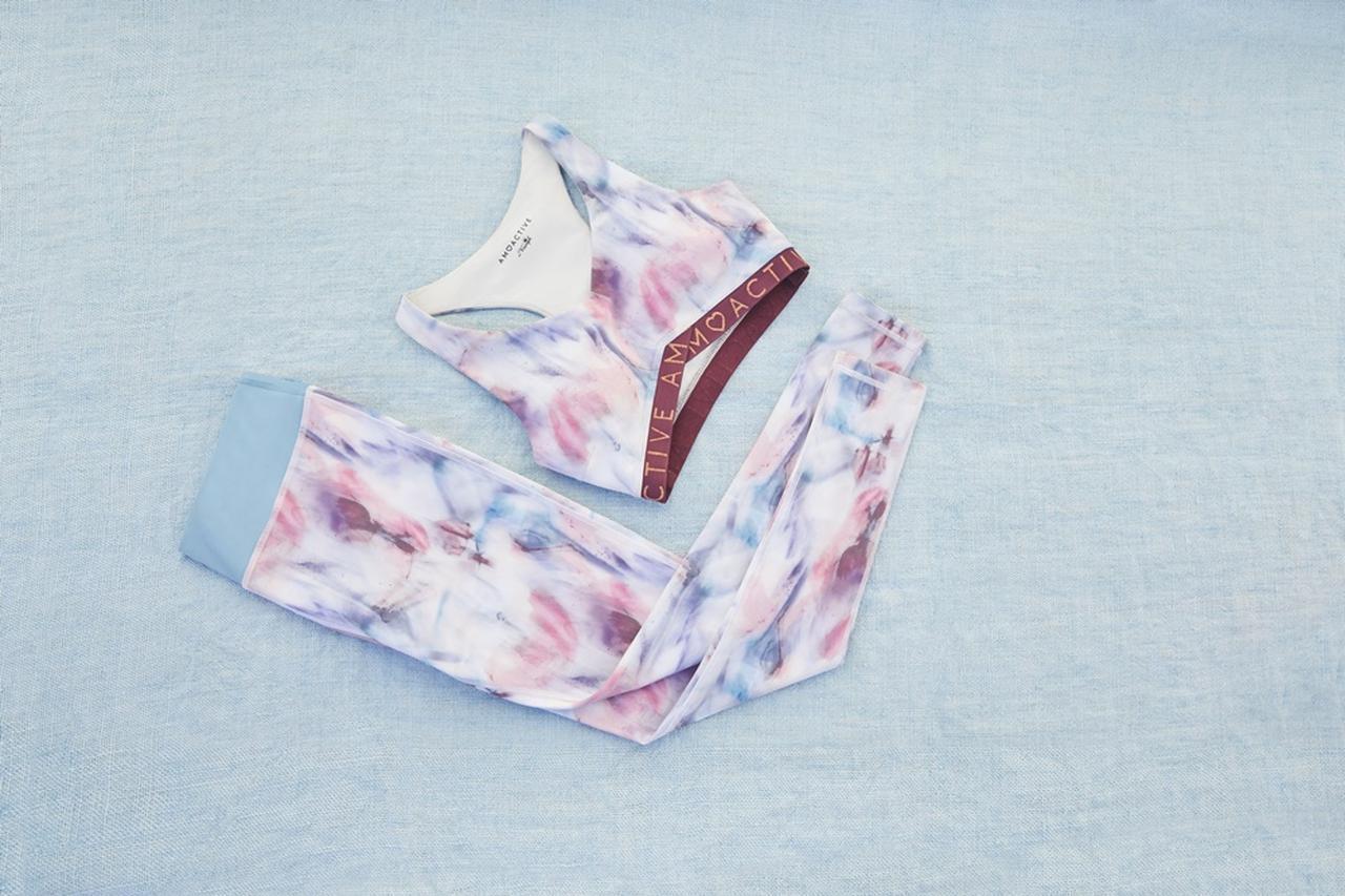 画像1: アモスタイルから、ヘルシーなアスレジャースタイルの新コレクション発売