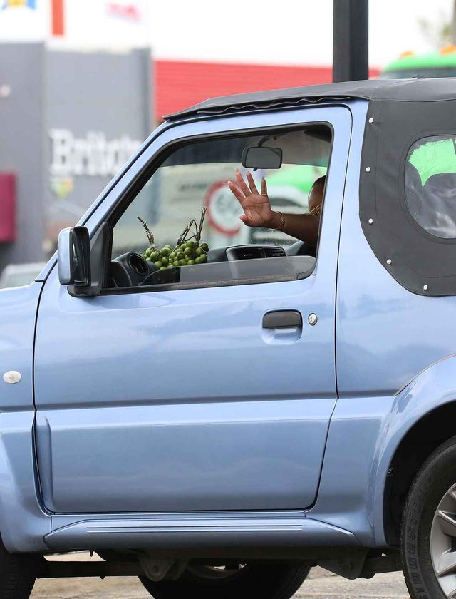 画像3: リアーナの愛車は日本車