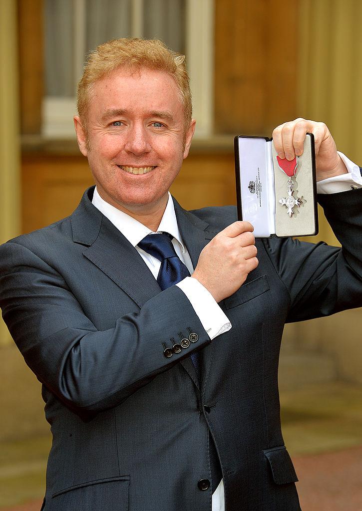 画像: マーク・ミラー氏。2014年には、その功績を称えられ、大英帝国勲章を受章している。