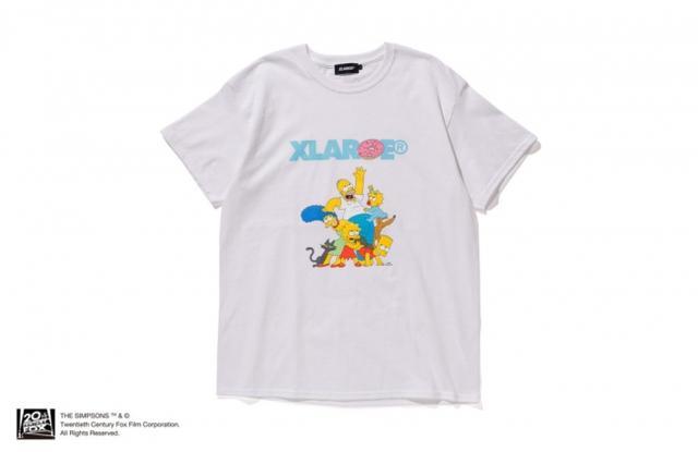 画像: XLARGEとシンプソンズがコラボ!Tシャツやスマホケースが発売