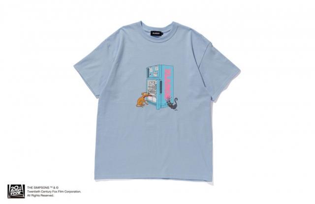 画像: S/S TEE THE SIMPSONS FRIDGE LOGO ¥5,500+TAX / WHITE,BLACK,YELLOW / S,M,L,XL