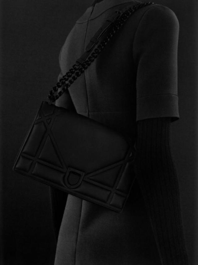 画像3: ディオール、新作バッグ「ウルトラマットブラック」が登場