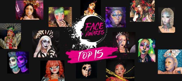 画像: アートなメイクを競うFace Awards