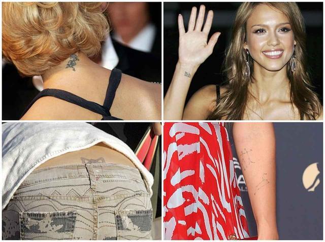 画像1: 6つのタトゥーを持つジェシカ・アルバ