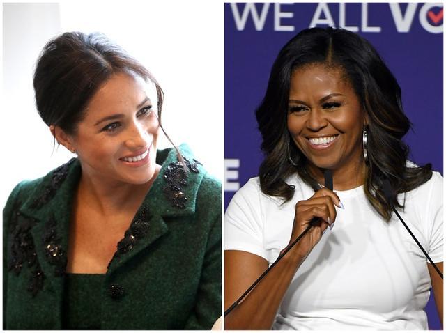 画像1: ミシェル・オバマ氏とメーガン妃が対談