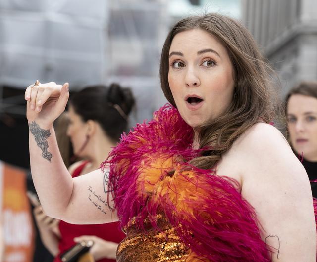 画像: レナ・ダナム。ニューヨークに生きる一般的な20代の生活を描いたラブコメ・ドラマ『GIRLS/ガールズ』で製作・主演を務め一躍ブレイクした。