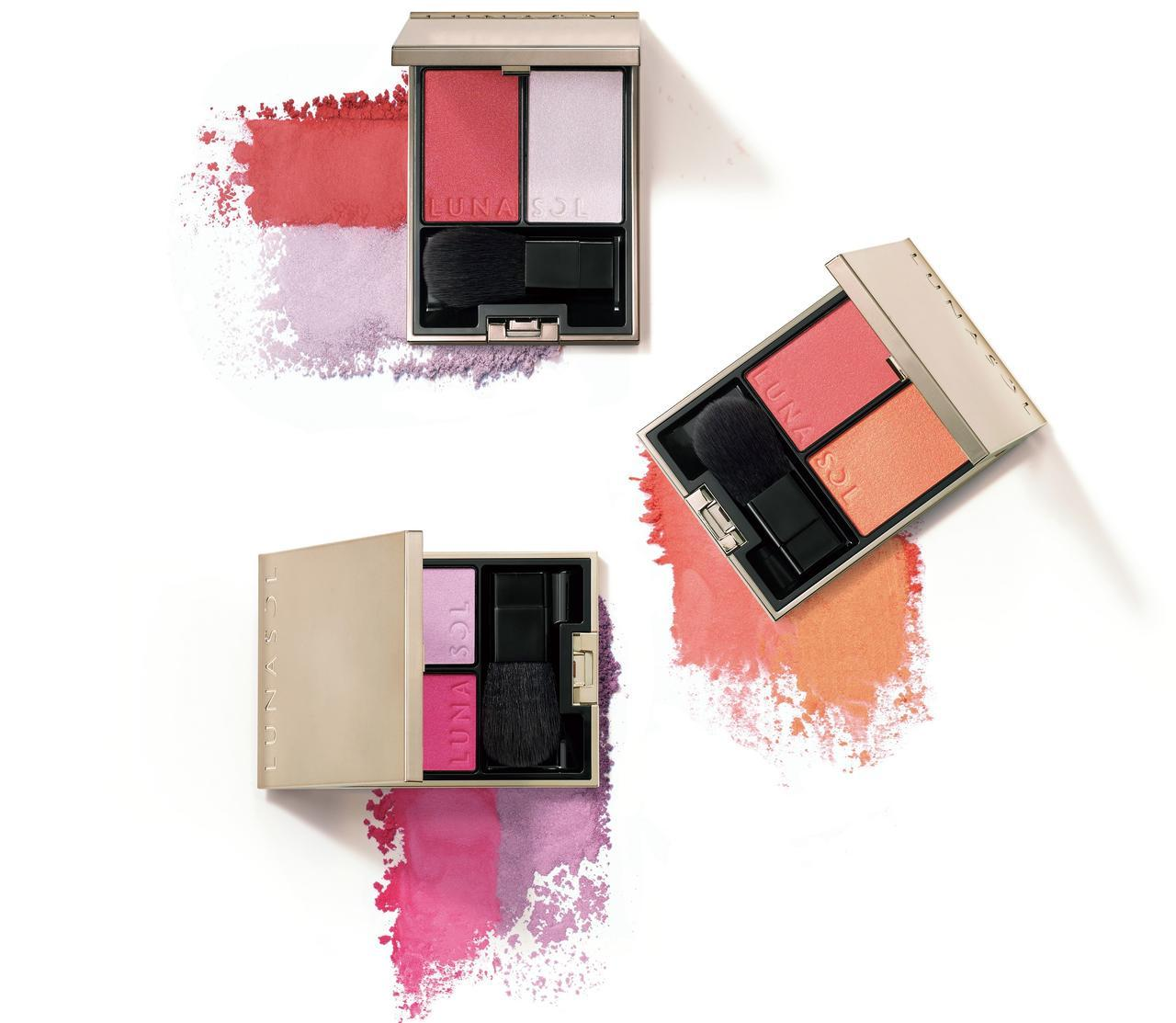 画像4: ルナソル、鮮烈な色にオーロラが輝く秋コレクションが発売