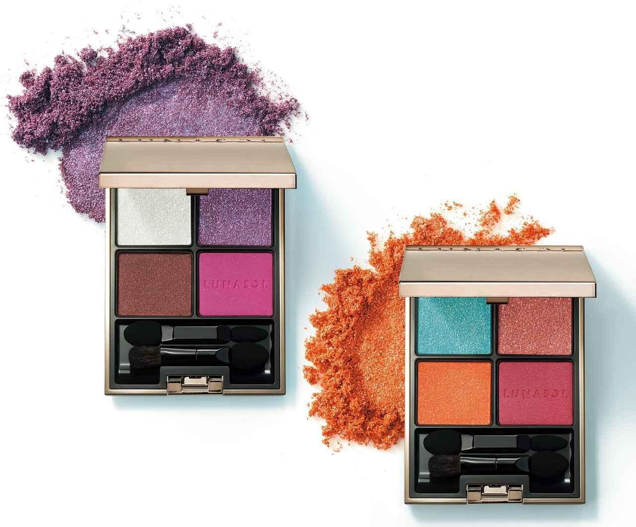 画像1: ルナソル、鮮烈な色にオーロラが輝く秋コレクションが発売