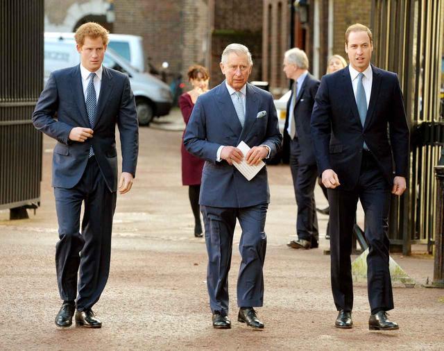 画像1: チャールズ皇太子と息子ヘンリー王子