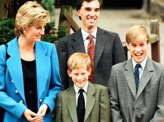 画像2: チャールズ皇太子と息子ヘンリー王子