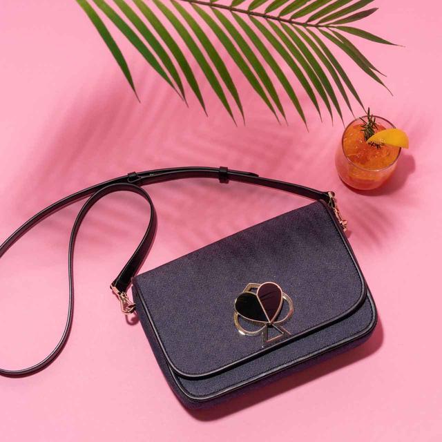 画像1: ケイト・スペード ニューヨーク初の日本限定「デニムバッグ」発売