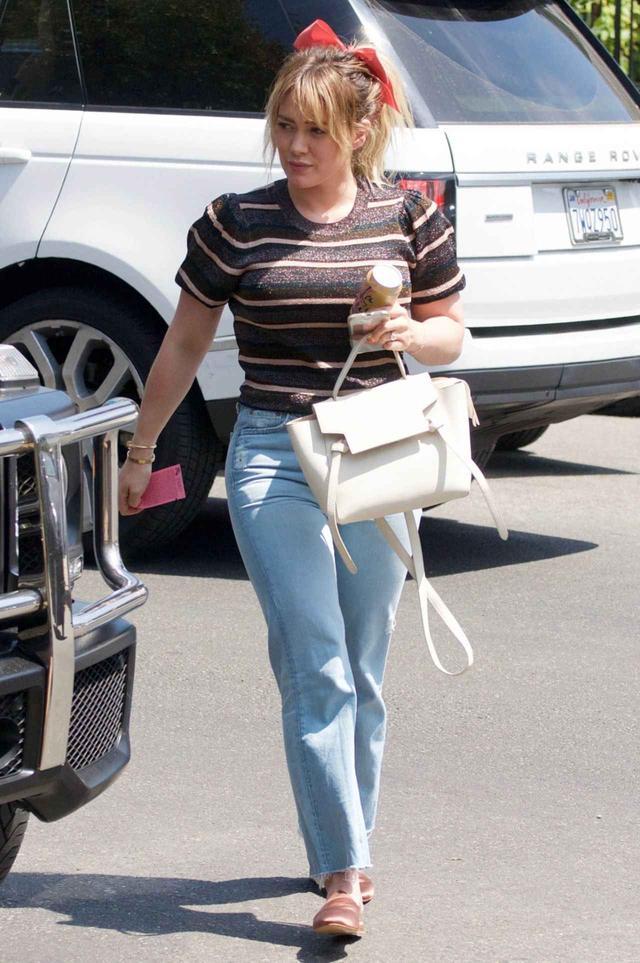 画像2: 女優のヒラリー・ダフ
