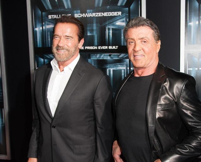 画像: 70歳を越えたスタローンとシュワルツェネッガー