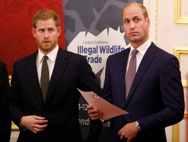 画像: ヘンリー王子とウィリアム王子が大きなケンカ