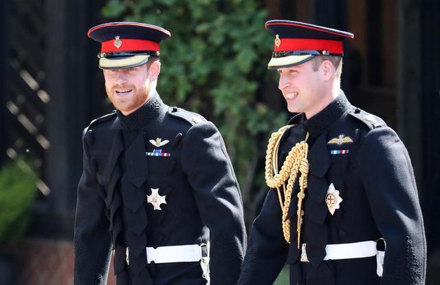 画像2: 現在のヘンリー王子とウィリアム王子