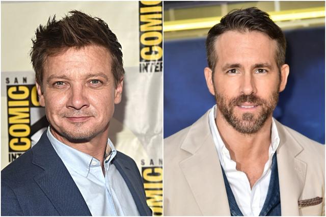 画像: 左:ホークアイを演じるジェレミー・レナ―、右:デッドプールを演じるライアン・レイノルズ