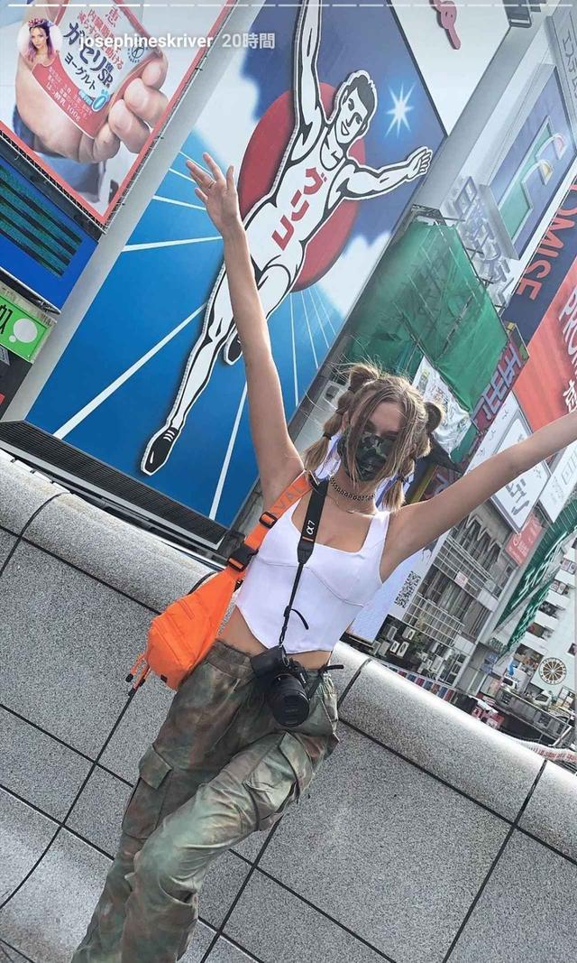 画像4: ジョセフィンが大阪に上陸