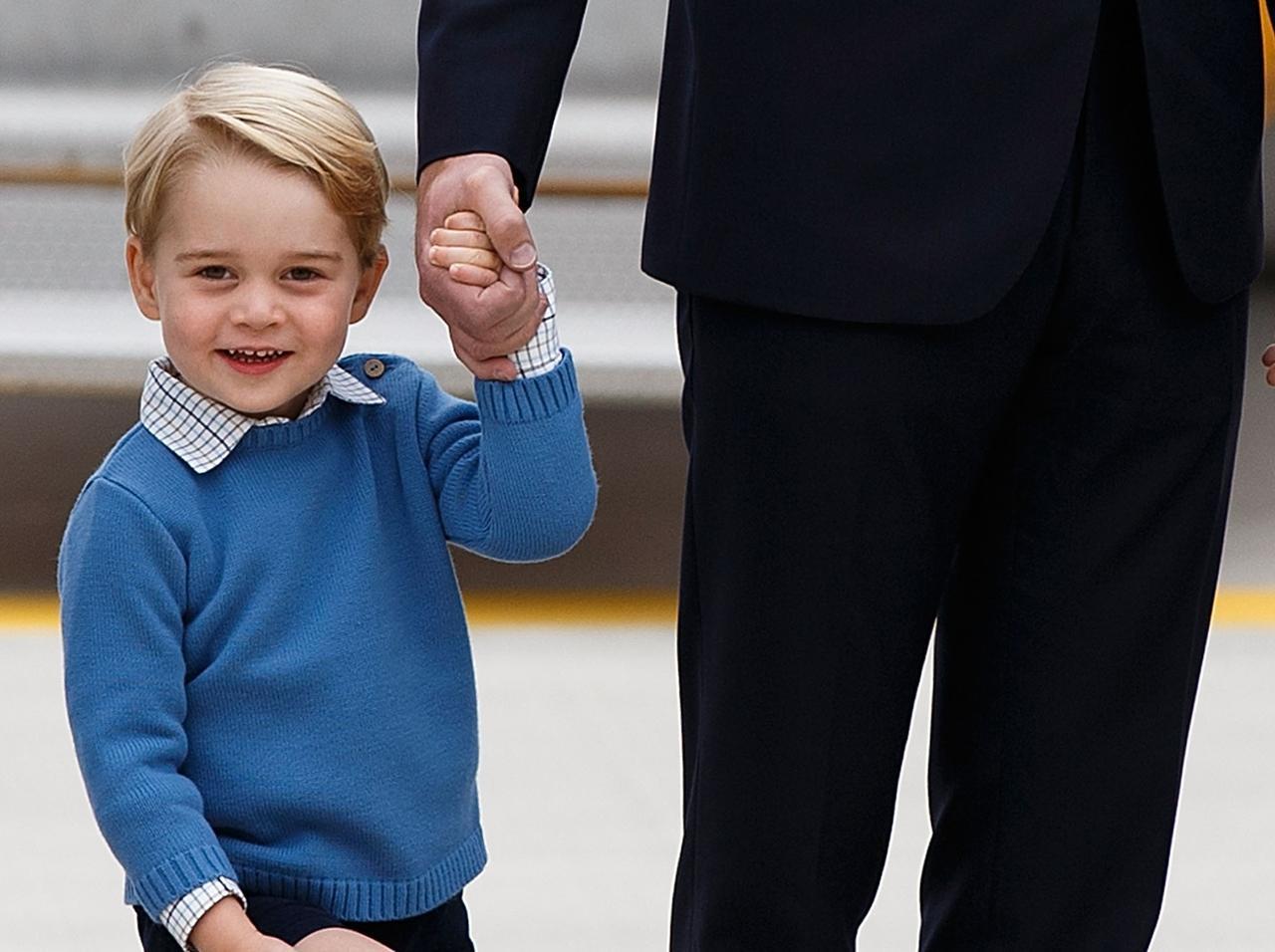 画像: ジョージ王子のお気に入り科目は…?