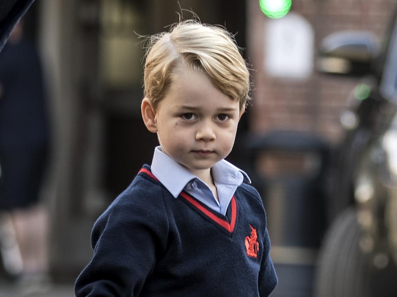 画像2: 私立学校に通うジョージ王子