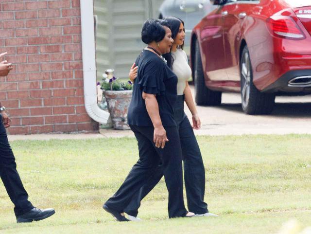 画像: キム・カーダシアンの働きで釈放された女性
