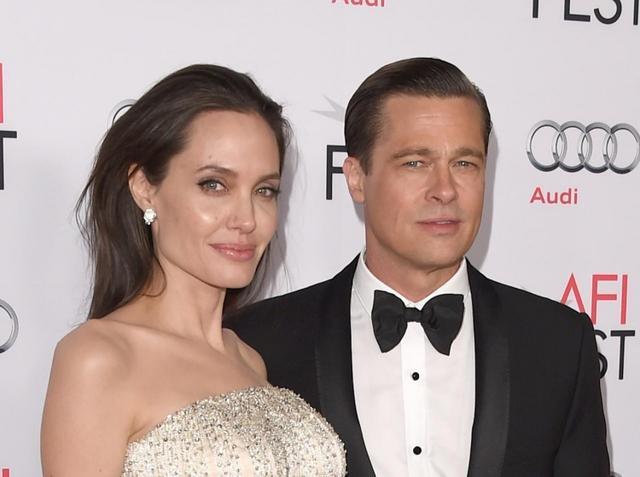 画像: ブラッドとアンジェリーナは2019年4月に法的に「独身」であると認められ、パートナーシップを解消した。