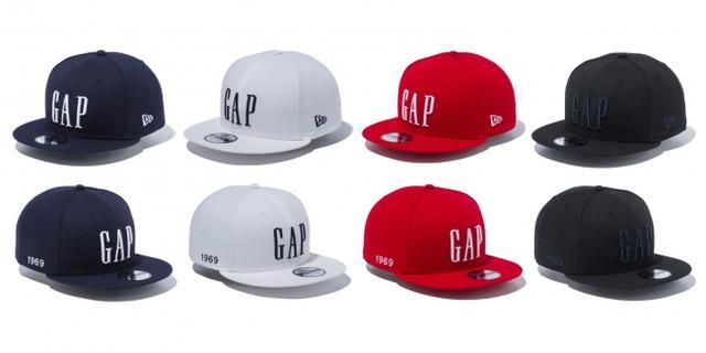 画像2: GAPとニューエラが初のコラボキャップを発売