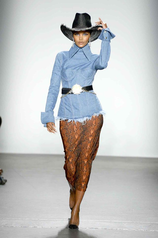 画像1: ラクワン・スミスのファッションショーがさすが