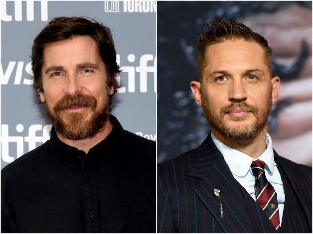 画像: 左から:クリスチャン・ベール、トム・ハーディー。ブラッドとクリスチャンは2015年公開の映画『マネー・ショート 華麗なる大逆転』で共演を果たしている。