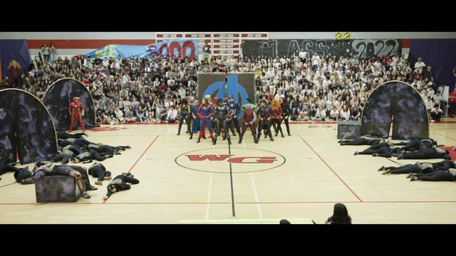 "画像: ""Marvel"" Homecoming Assembly Dance youtu.be"