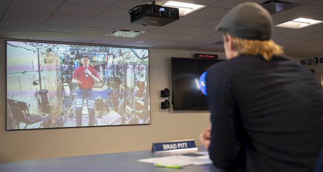 画像: ブラピ『アド・アストラ』の再現度を宇宙飛行士に質問