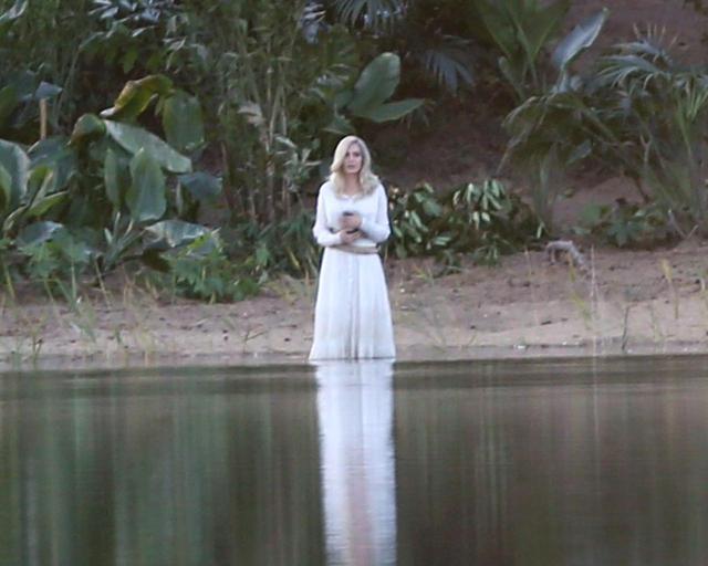 画像2: 『エターナルズ』撮影中のアンジェリーナを激写