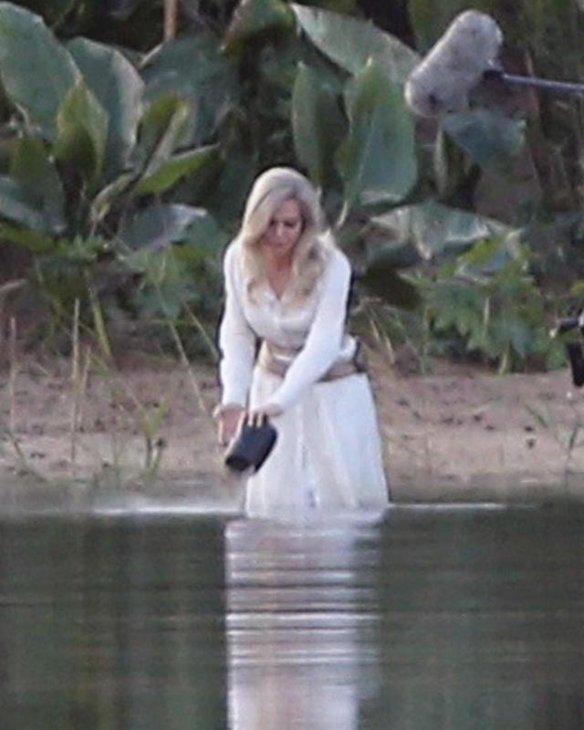 画像3: 『エターナルズ』撮影中のアンジェリーナを激写