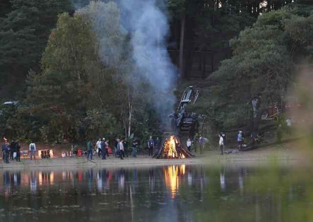 画像4: 『エターナルズ』撮影中のアンジェリーナを激写