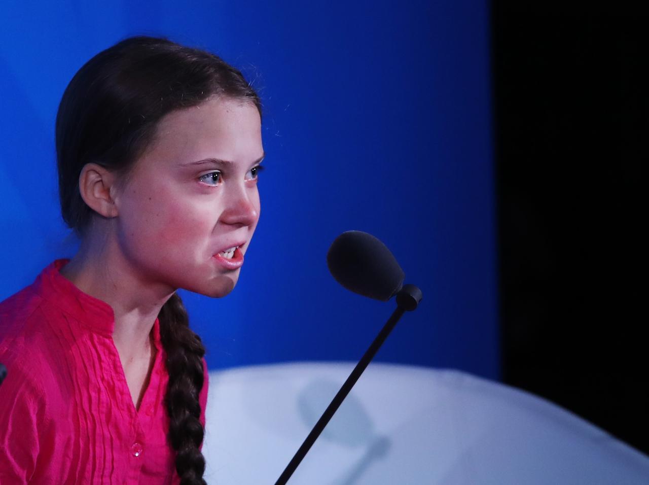 大人を許さない」16歳の環境活動家グレタ・トゥーンベリが怒り、涙の ...