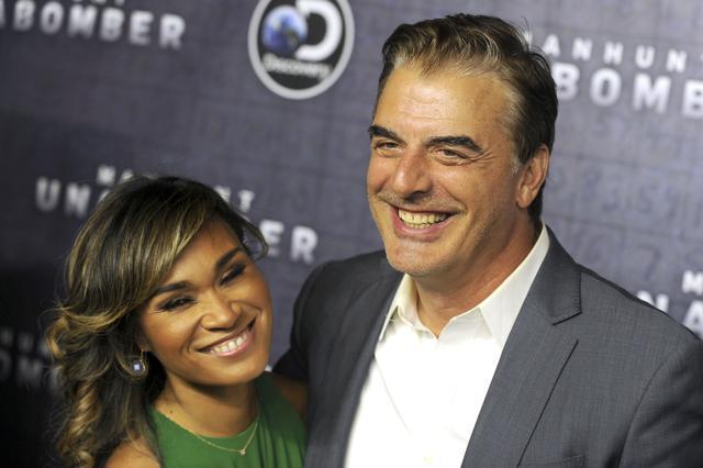 画像: 2017年に開催されたドラマ『マンハント』のワールドプレミアで撮影された夫妻