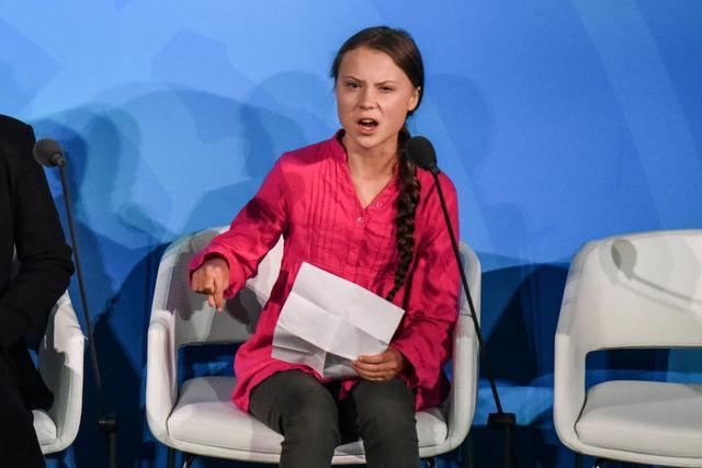 画像: 怒れる環境少女グレタのスピーチを「予見」