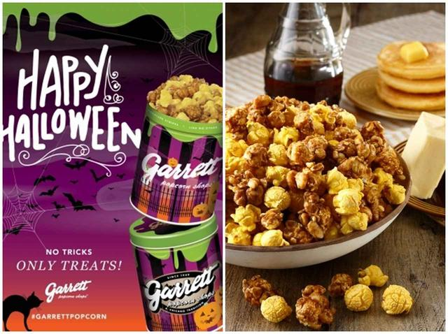 画像: ギャレット ポップコーン、ハロウィンを盛り上げる「おばけパッケージ」