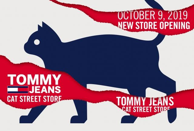 画像1: トミー ヒルフィガー、トミー ジーンズ初の路面店をキャットストリートにオープン