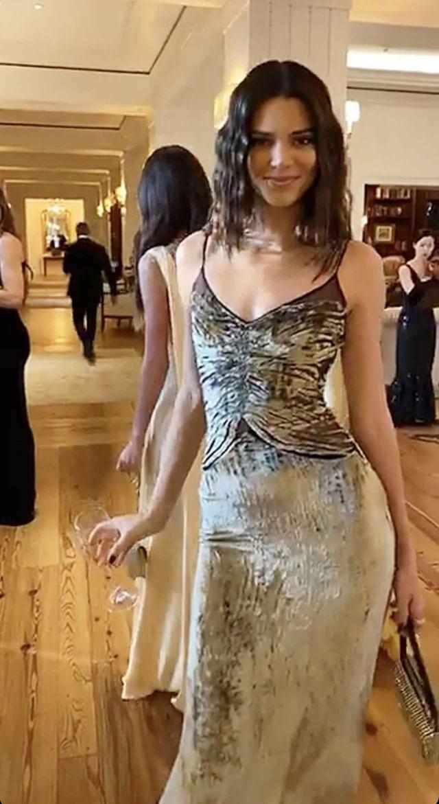 画像: 式に出席したモデルのケンダル・ジェンナー。