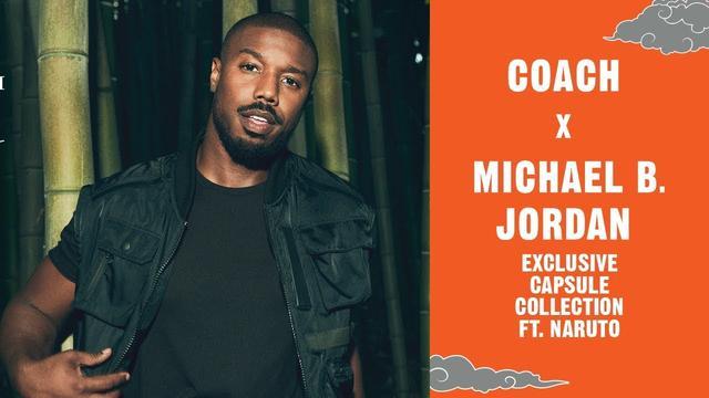 画像: Coach x Michael B. Jordan | Exclusive Capsule Collection ft. Naruto youtu.be